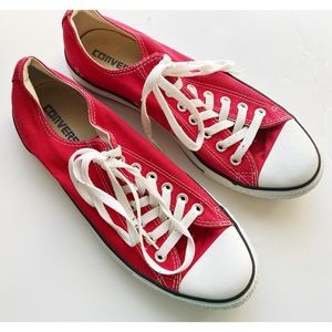 COPY - Converse • Red All Stars Sneakers Chuck Ta…
